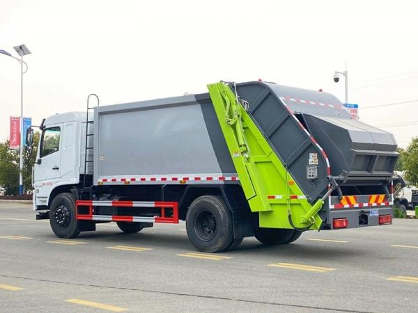 专底12方压缩垃圾车车型资料