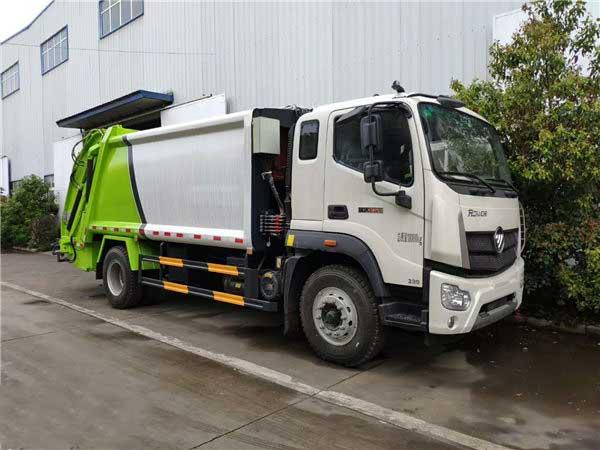 福田瑞沃12方压缩垃圾车哪里买、推荐车型