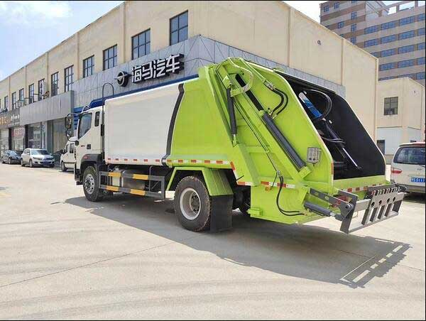国六[热门车型]瑞沃12方压缩垃圾车高品质