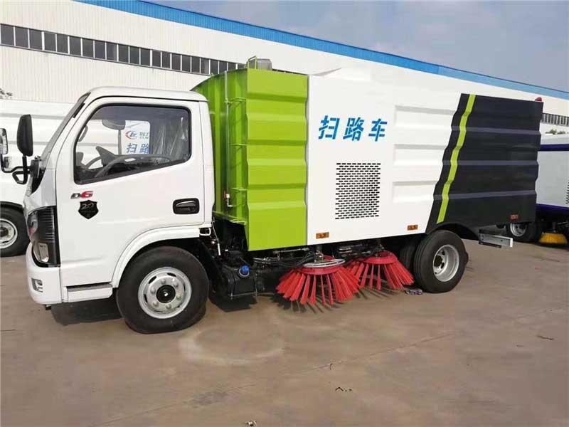 2021款東風多利卡D6_5.5方掃路車高品質-有售