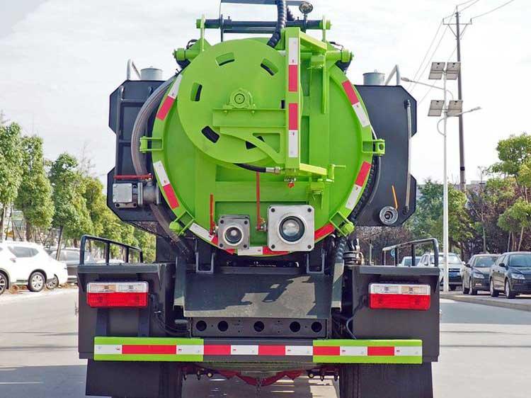 新款東風多利卡D6_6方清洗吸污車圖片-參數