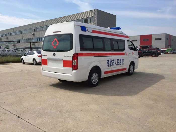 風景G9監護型救護車哪里賣質量好怎么選擇
