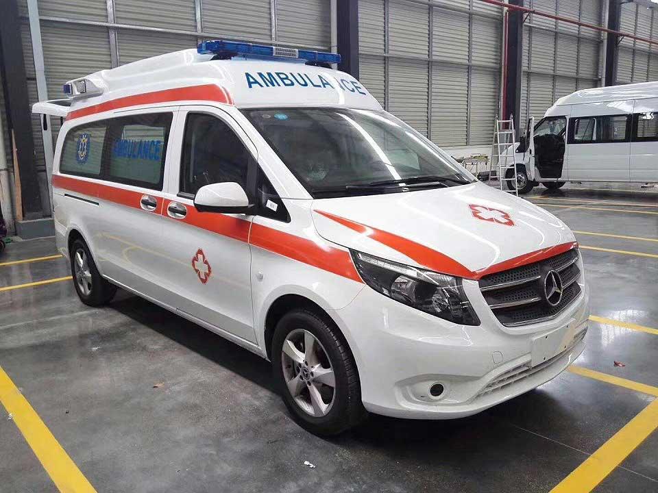 奔馳威霆監護型救護車多少錢一輛