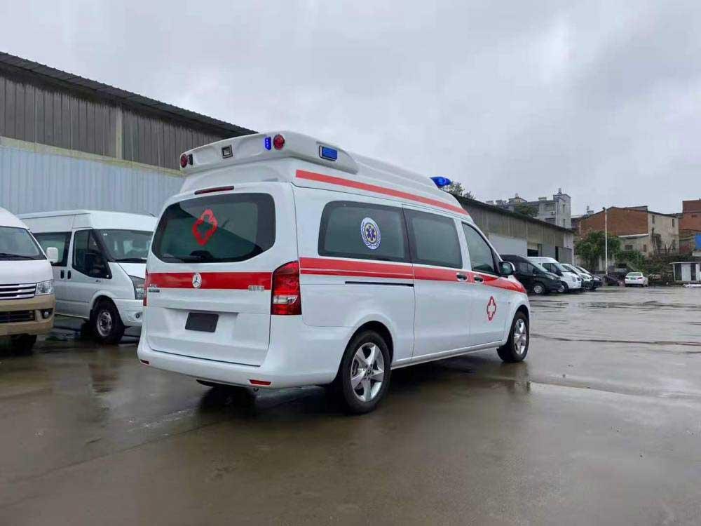 新款威霆監護型救護車全國質保