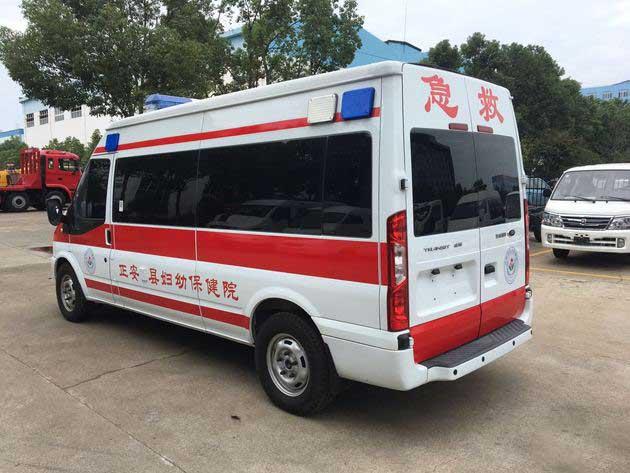 新款藍牌奔馳威霆監護型救護車實拍圖_多少錢 哪里賣 廠價直銷
