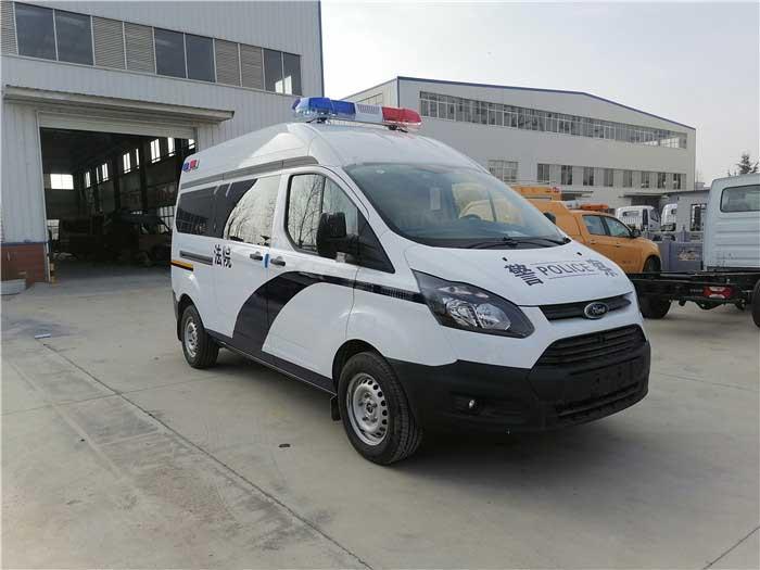 汽油自动挡囚车福特新全顺V362警用囚车高品质