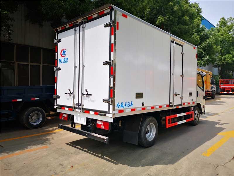 新款国六江铃凯运4.2米冷藏车多少钱怎么选择