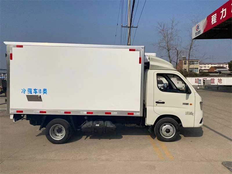 新款3.1米冷藏車_福田祥菱M1冷藏車優惠促銷、上戶無憂