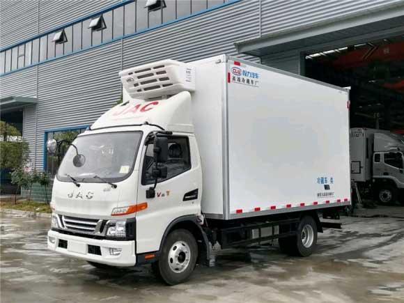 新款陜西安康駿鈴V6_4.2米冷藏車上戶無憂
