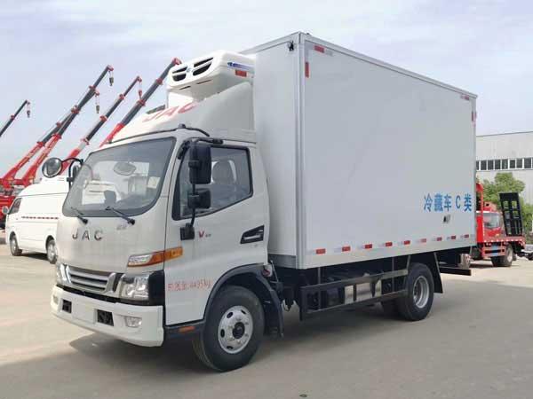 4.2米冷藏车_江淮骏铃V6冷藏车实拍图_价格 首选车型 功能齐全
