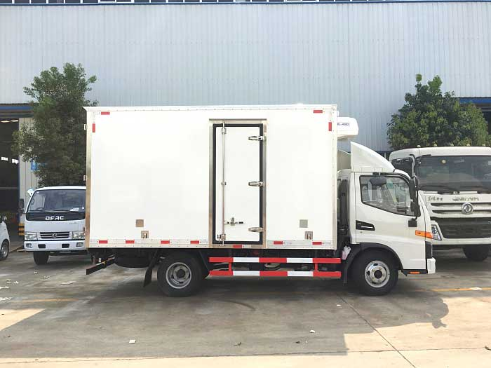 [推荐车型]骏铃V6_4.2米冷藏车价格-配置