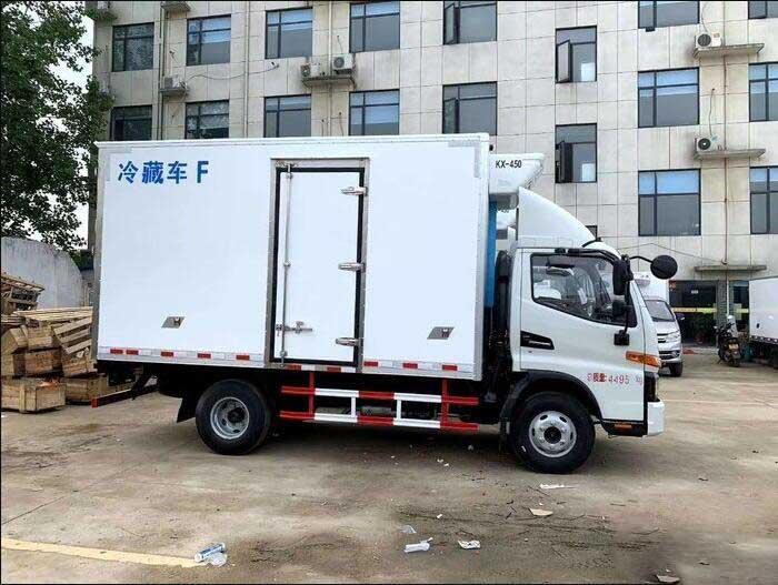 国6最新4.2米冷藏车_江淮骏铃V6冷藏车性价比高-功能齐全