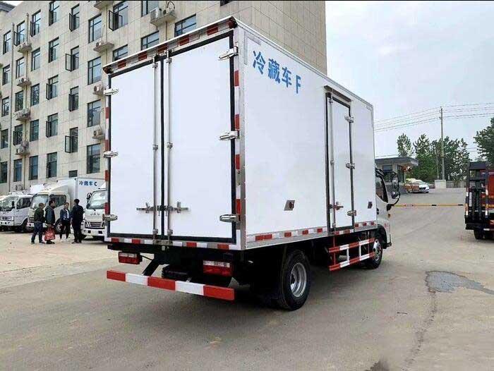 江淮駿鈴V6_4.2米冷藏車實拍圖_質量好有售現車