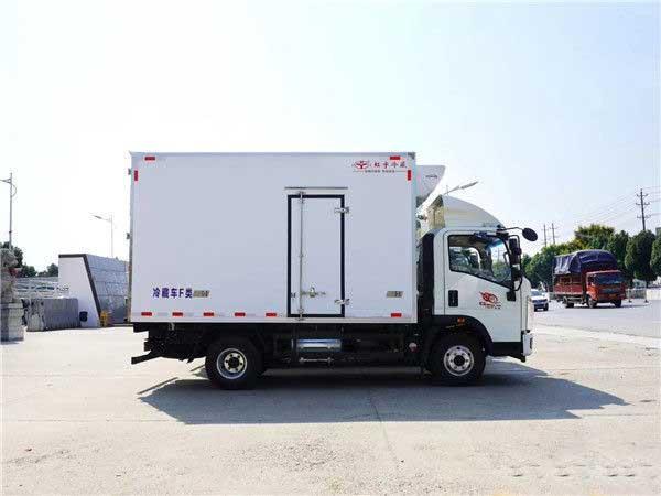 重汽豪沃4.2米冷藏车哪里卖 质量好 厂价直销