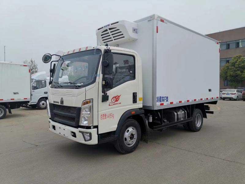 新款最新福田祥菱M1_3.1米冷藏車車型資料