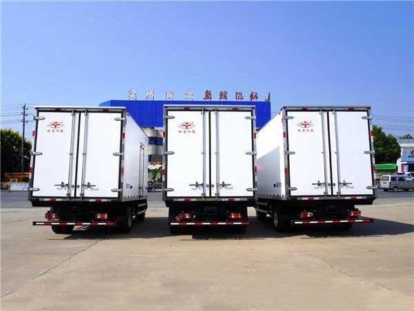 最新江淮骏铃V6_4.2米冷藏车生产厂家、改装厂