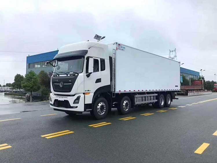 國六藍牌東風天龍KL9.6米冷藏車推薦車型