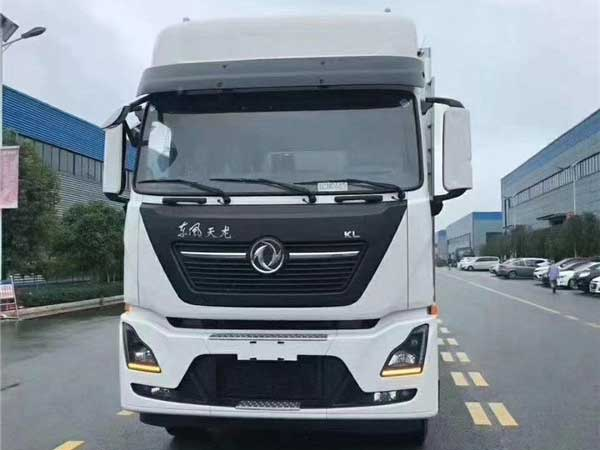 東風天龍KL9.6米冷藏車價格