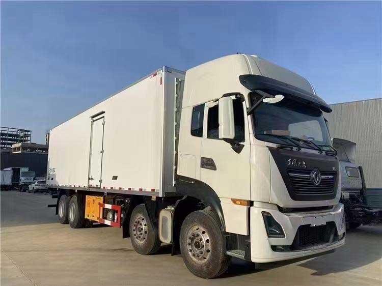 最新[熱門車型]東風天龍KL9.6米冷藏車優惠促銷價格便宜