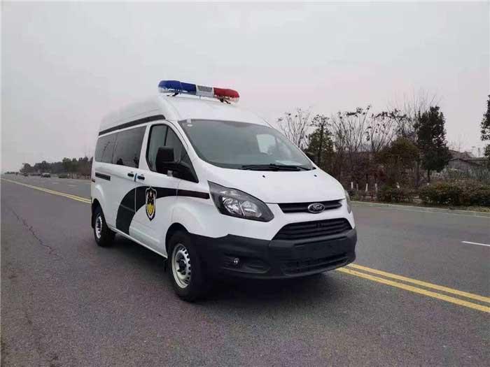 新全順V362警用囚車實拍圖_生產廠家