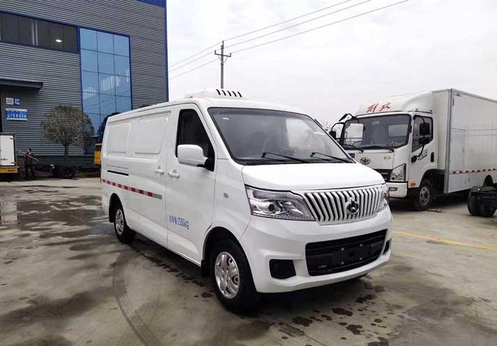 [热门车型]长安睿行面包式冷藏车配置 推荐车型