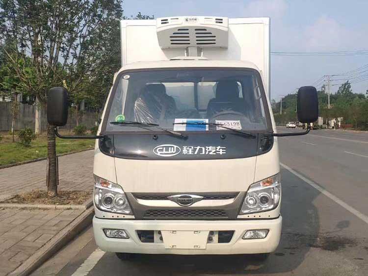 [推荐车型]小卡之星3.5米冷藏车报价 全国质保