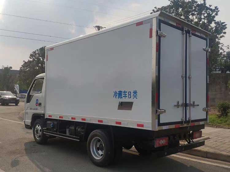 國六福田小卡之星3.5米冷藏車實拍圖_價格、專業廠家