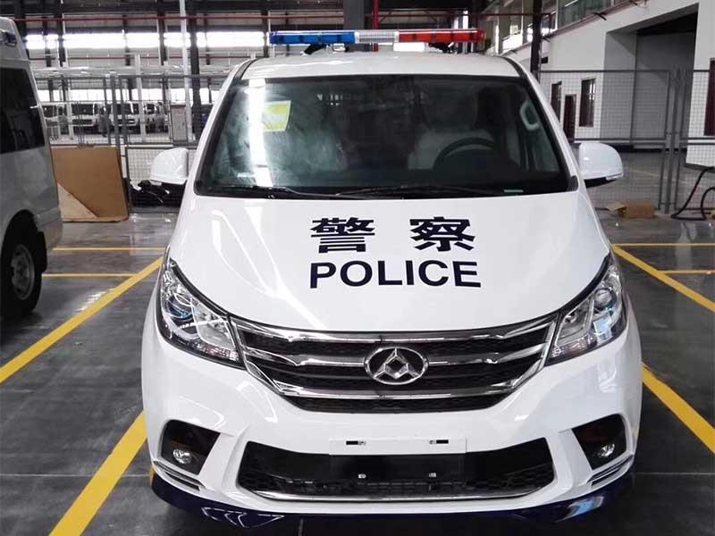 新款警用囚车上汽大通G10囚车生产厂家