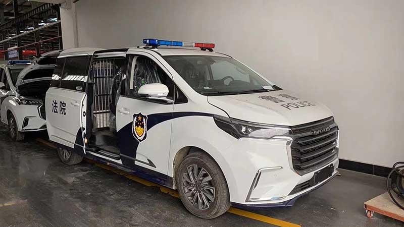 新款13人座囚車上汽大通G20囚車報價 最好