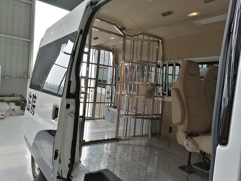 9人座囚车新时代全顺V348警用囚车专业厂家、有售