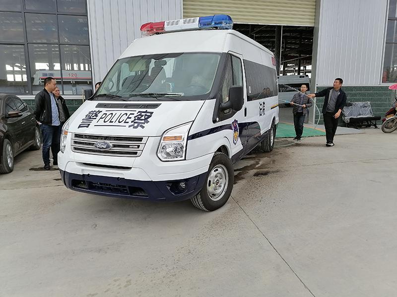 國六15人座囚車新時代全順V348警用囚車全國質保