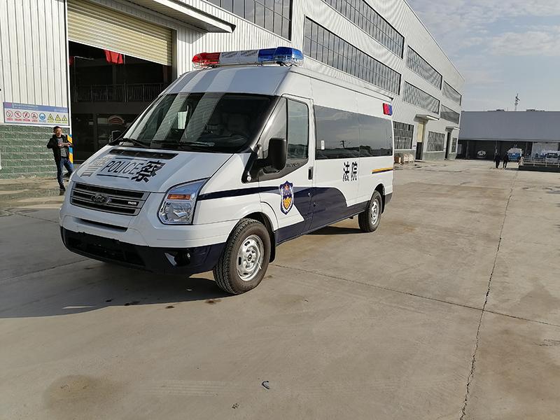 新款新時代全順V348警用囚車價格表