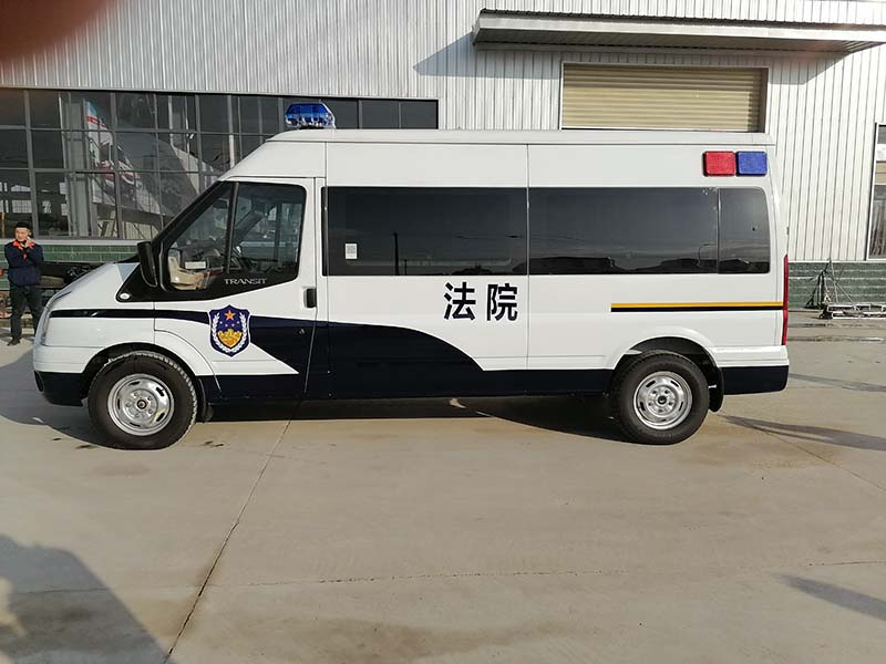 自动挡囚车新时代全顺V348警用囚车实拍图_上户无忧 现车