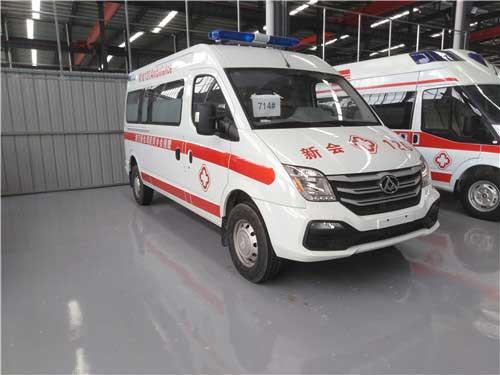 國六監護型救護車_上汽大通V80救護車最好、車型資料