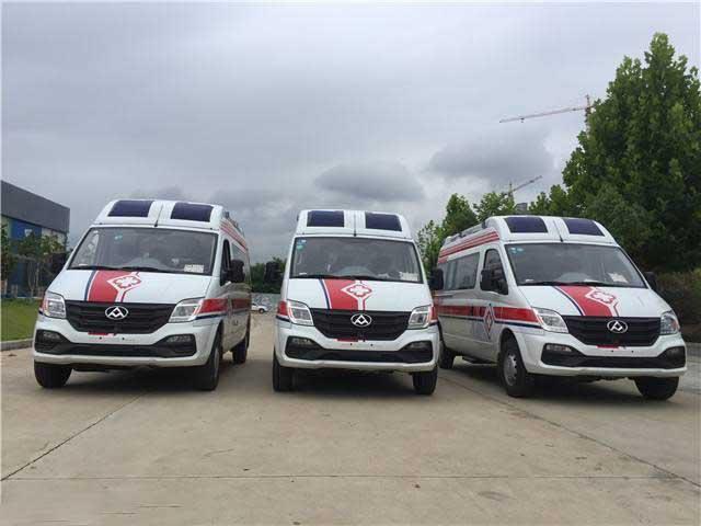 監護型救護車_上汽大通V80救護車參數、首選車型、價格便宜