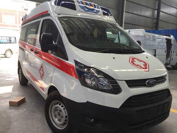 福特新全順V362救護車廠家直銷