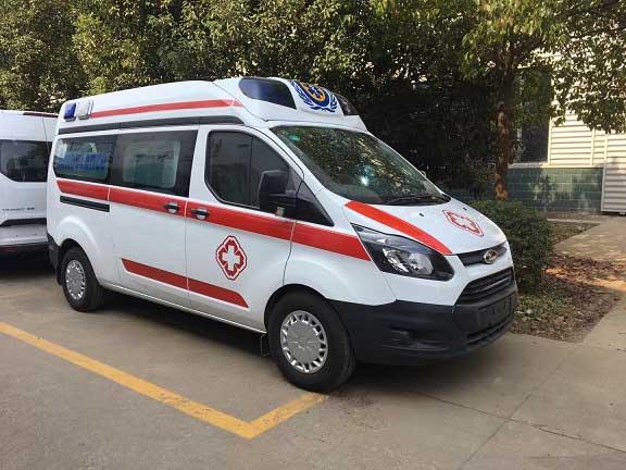 國六福特新全順V362救護車資質齊全