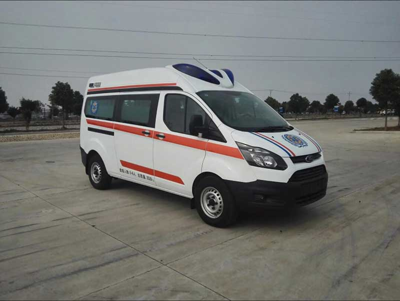 福特新全顺V362救护车实拍图_价格表、购买