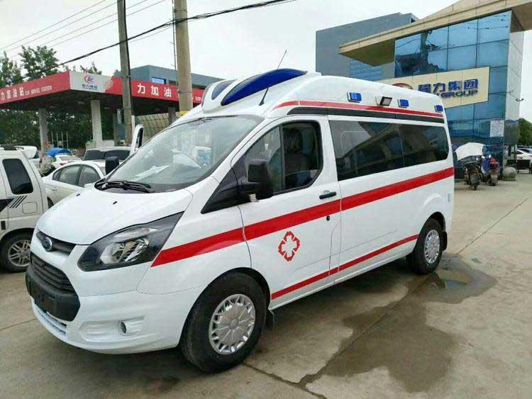 [热门车型]四川雅安福特新全顺V362救护车全国质保优惠促销