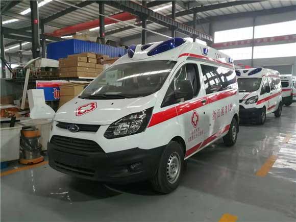 2021款新时代全顺V348短轴救护车报价全国质保