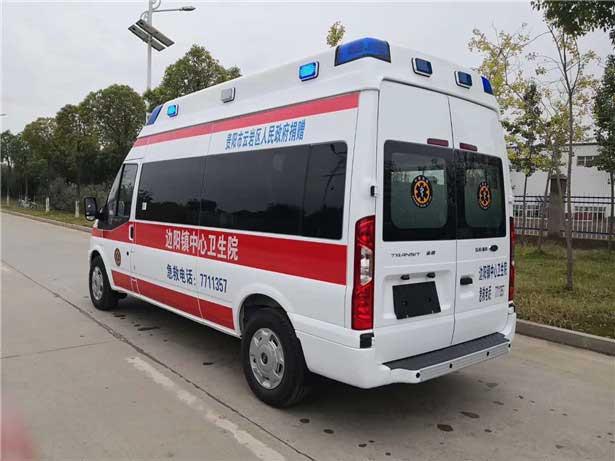 國六[熱門車型]福特新時代全順V348短軸救護車報價