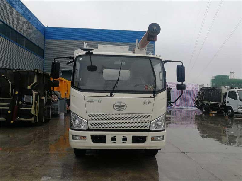 國6解放J6F12方散裝飼料運輸車質量好
