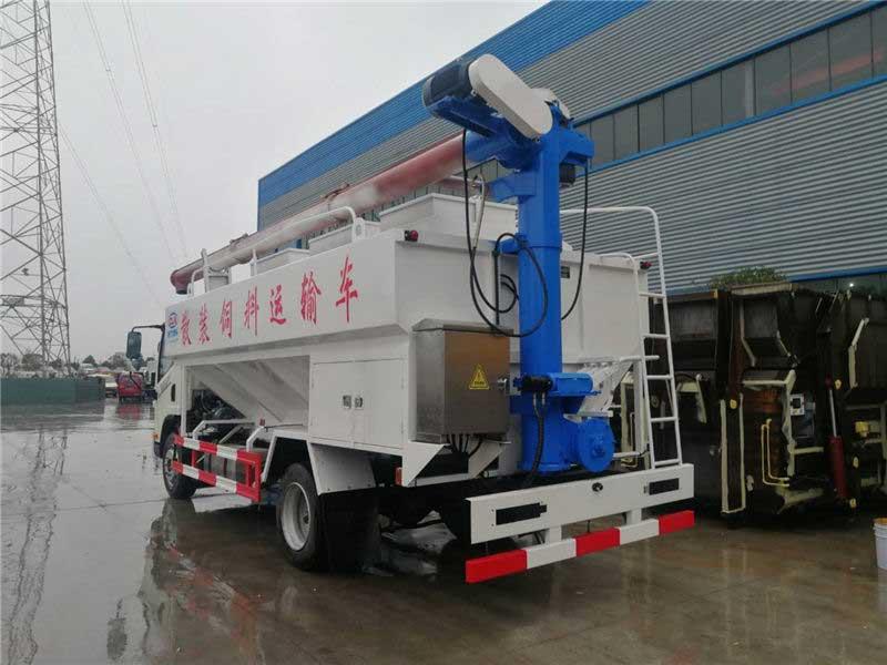 国六2021款解放J6F12方散装饲料运输车生产厂家全国质保上户无忧