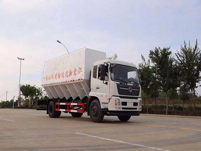 [熱門車型]22方散裝飼料運輸車_東風天錦VR散裝飼料運輸車價格、上戶無憂、現車