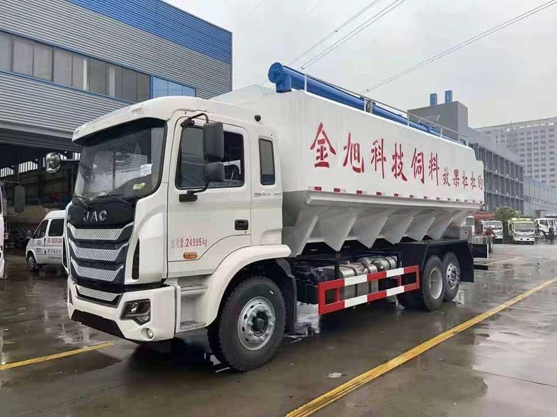 [熱門車型]格爾發K5_30方散裝飼料運輸車高品質