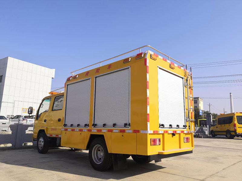 雙排座救險車_慶鈴五十鈴工程救險車性價比高