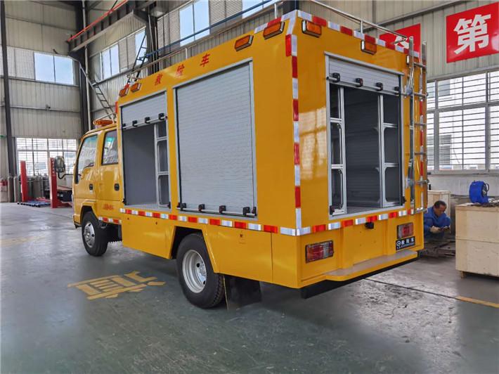 雙排座搶險救援車_安徽滁州慶鈴五十鈴工程搶險救援車最好-哪里賣-車型資料