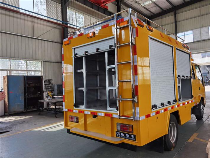 燃气五十铃工程双排座抢险救援车图片-资质齐全-推荐车型