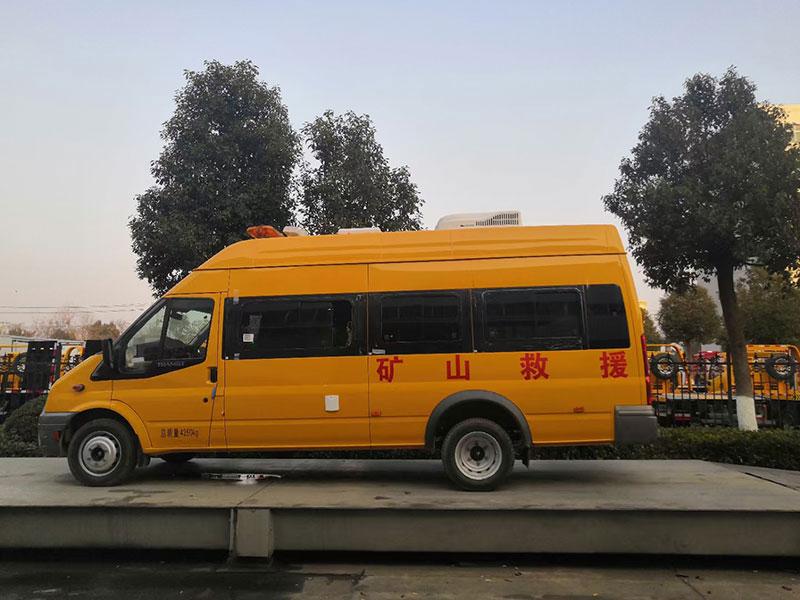 V348气防车5-9人座工程救险车生产厂家