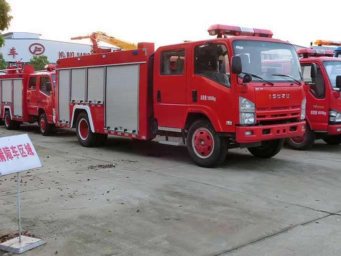 [推薦車型]3噸泡沫消防車_慶鈴五十鈴700P泡沫消防車報價_價格表_首選車型